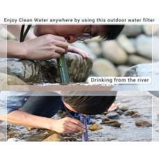 Outdoor Water Purifier Straw