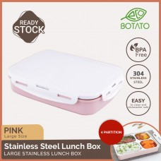 Stainless Steel Lunch Box 1.8L