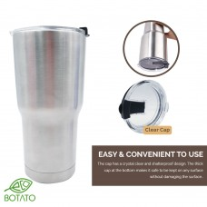 STAINLESS STEEL TUMBLER with Lid Cap